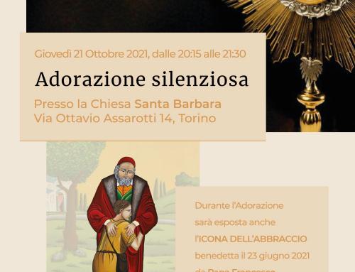 Adorazione Silenziosa ottobre 2021